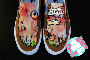 Zombie Shoes Take 3 by mburk