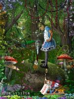 Alice and other persons...... by ArtzIGOR