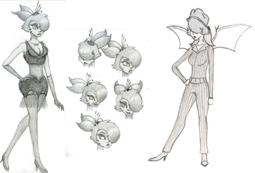 Violetta Concept Sketches by SavannaEGoth