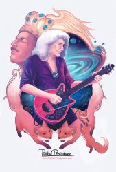 Brian May by Rachel-Perciphone