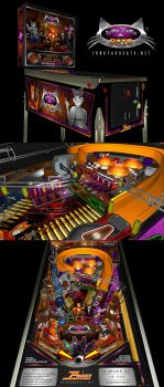 Junkyard Cats Pinball Design by Pinwizkid