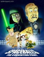 Spaceballs - The Convention Print by DadaHyena