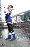 Noel start this battle. BlazBlue cosplay. by Giuzzys