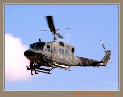UH-1N Twin Huey by painting-with-light