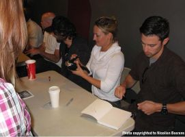 Me and Milo Ventimiglia by Cataclysm-X