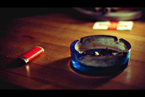 Ashtray by NickSachos