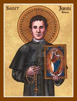 St. John Bosco icon by Theophilia