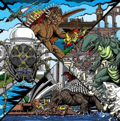 Destroy All Monsters 2 by kaijuverse
