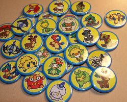 Pokedoll BADGES