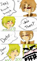 Hetalia Doctor Who Comic Joke by bleachfan800
