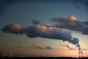 Nuclear Morning by pelleron