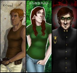 LS Bookmarks Colored by wandaluvstacos