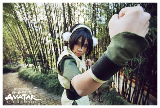 Avatar : Toph Bei Fong by beethy