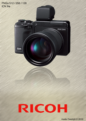 Ricoh GXR Icon by made-Twenty9