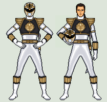 White Ranger - Mighty Morphin Power Rangers by vandersonmetal