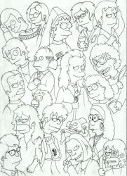 Simpsons-Harry Potter 2 by Fyrie