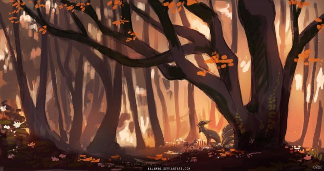Viridian Forest by kalambo