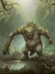 Battlebuddies - Kung - Swamptroll Boss by TheFirstAngel