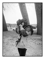 2016-115 Deidre and the Voigtlander Bessa by pearwood