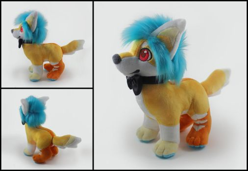 Ayden Plushie Commission by WispyChipmunk