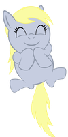 Happy Derpy Baby Vector by SuperPonytime