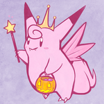 Pokeween 4: Clefaboo by Rosemary-the-Skunk