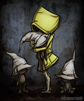 Little Nightmares - Six by roseandthorn