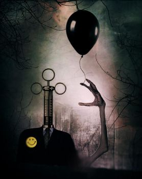 My Black Balloon by E-X-O-G-E-N