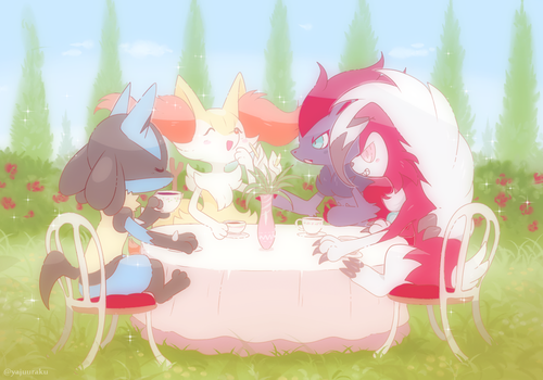 Tea Party Time by Yajuuu