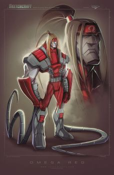 Omega Red by RobDuenas