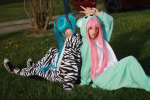 Luka Miku Kigurumi 07 by KyuProduction