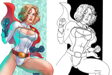 Power Girl by Roderic-Rodriguez