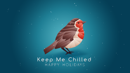 Robin Origami Wallpaper [Free] Keep Me Chilled by dendoona