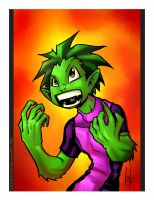 Beast Boy by lervold