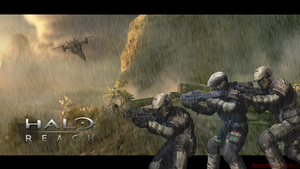 Halo: Reach ::: Holdout by Floodgrunt