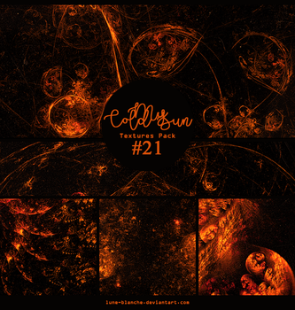 Textures pack #21 - My Cold Sun by lune-blanche