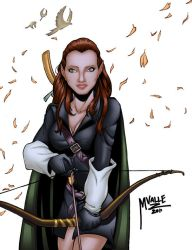 Shelby Elf Commission Color by MJValle