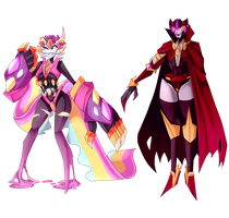 Halloween Mecha Adopts PRICE DROP (CLOSED) by Blissful-Rouzes