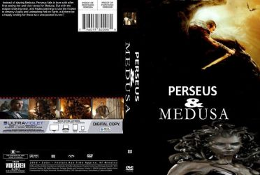 Perseus and Medusa DVD cover by SteveIrwinFan96