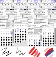 Paint Tool Sai Settings by MourantLune