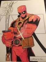 Deadpool JC GRANDE COLORS JEREMY SCULLY by Drakelb