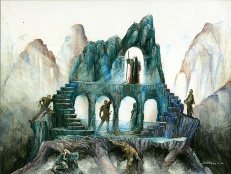 The Tempest- Painting by ScottAronow