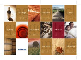 Starwood Wine Menu Cover by 6seven