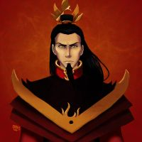 Ozai by lady-voldything