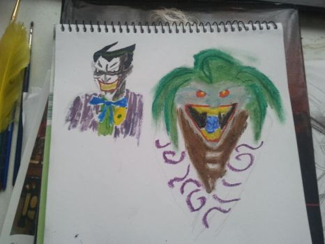 Joker dawings by Mudley