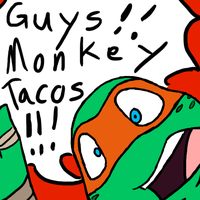 Monkey Tacos by MetaLatias5