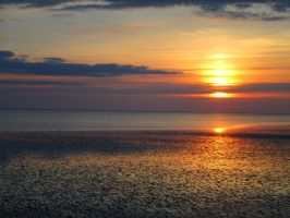 My postcard from the Wadden Sea by Fredkaluppke