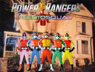 Power Rangers InsectoSquad by ThePeoplesLima