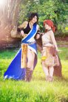 Fang and Vanille - Final Fantasy XIII by LadyDaniela89