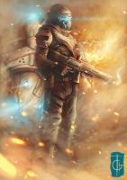 fast drawing - titanfall by thegameworld